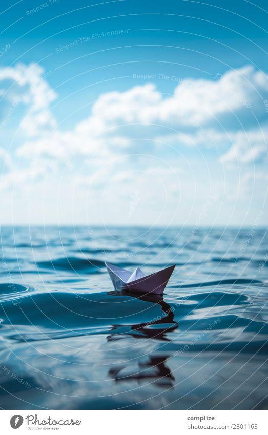 so lonely Ferien & Urlaub & Reisen Sommer Wasser Meer Freude Ferne Strand Reisefotografie Umwelt Küste Spielen Freiheit Schwimmen & Baden See Wellen