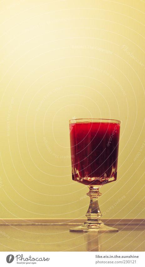 für alle kranken pc'ler Lebensmittel Getränk Erfrischungsgetränk Saft Orangensaft Geschirr Glas Sektglas exotisch Flüssigkeit rot Saftglas antik Farbfoto