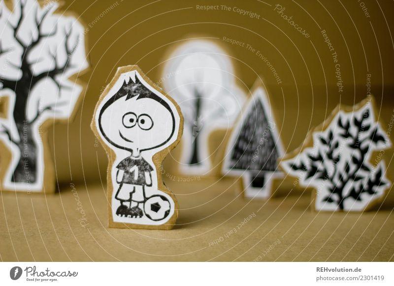 Pappland | Fussballer Mensch Natur Jugendliche Landschaft Baum Umwelt Sport Junge Glück Spielen außergewöhnlich Freizeit & Hobby maskulin Kindheit Kreativität