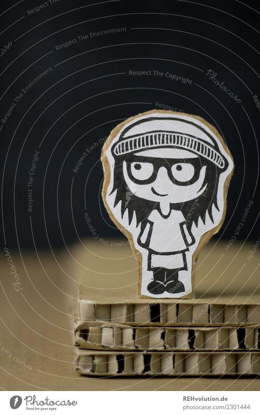 Pappland | Hipstermädchen Lifestyle Stil Design Mensch feminin Junge Frau Jugendliche 1 13-18 Jahre 18-30 Jahre Erwachsene Kultur Jugendkultur Brille Mütze