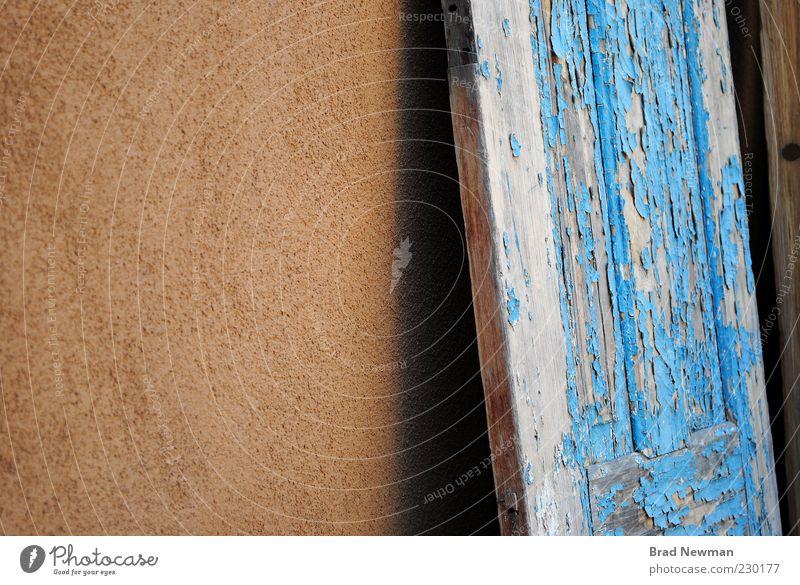 alt Wand Mauer Gebäude braun Tür Altstadt New Mexiko