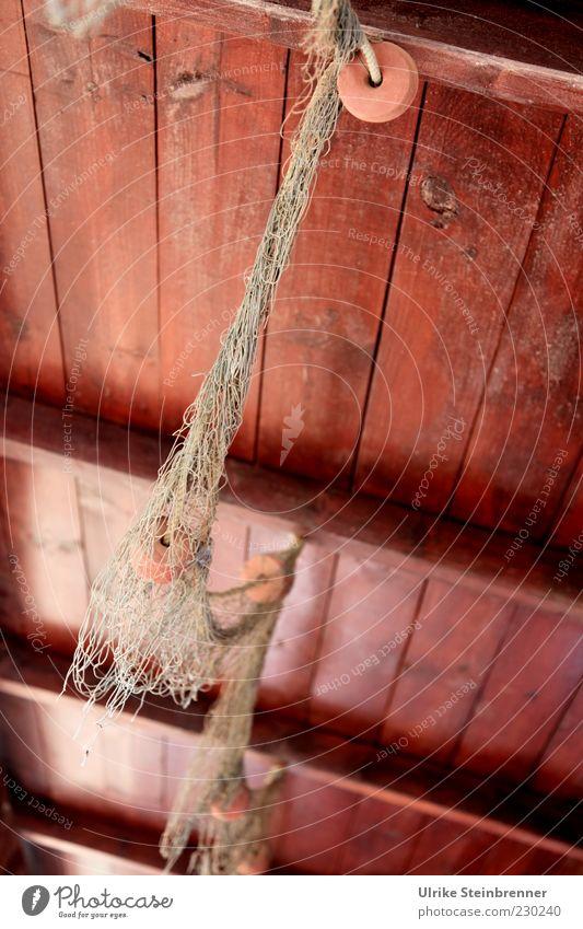 Fangfrisch alt Gebäude braun Dekoration & Verzierung Hütte hängen Tradition Decke Originalität maritim typisch Fischernetz freihängend Holzdecke