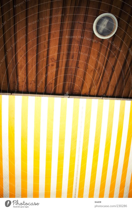 Mr. Nico verlangt nach Farbe gelb Holz Stil Lampe Linie braun Design leuchten Streifen einfach einzigartig Wetterschutz Markise Holzdecke