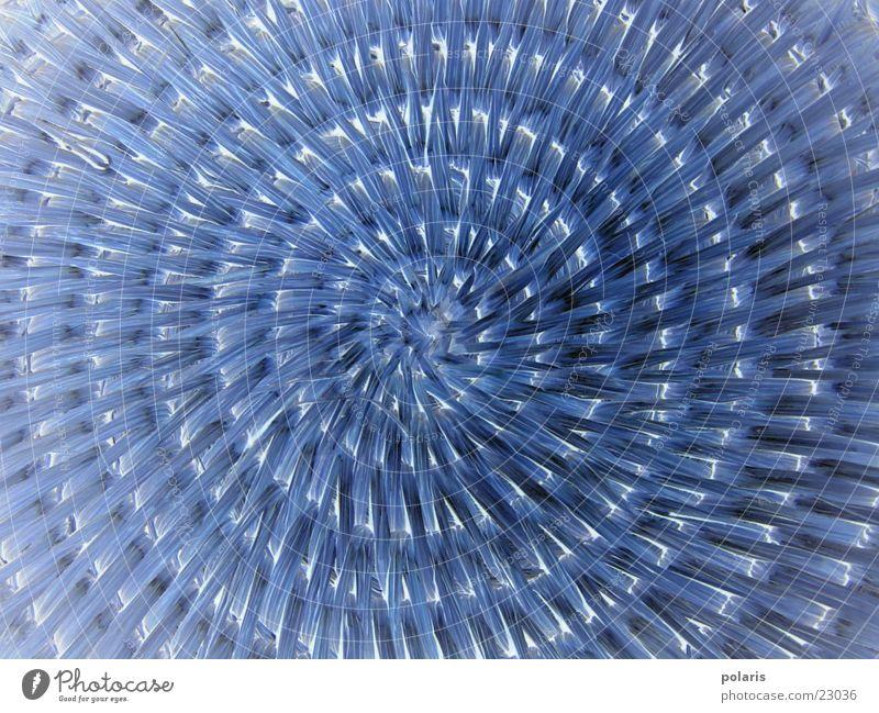 musterkreis blau Kreis Fototechnik geflochten