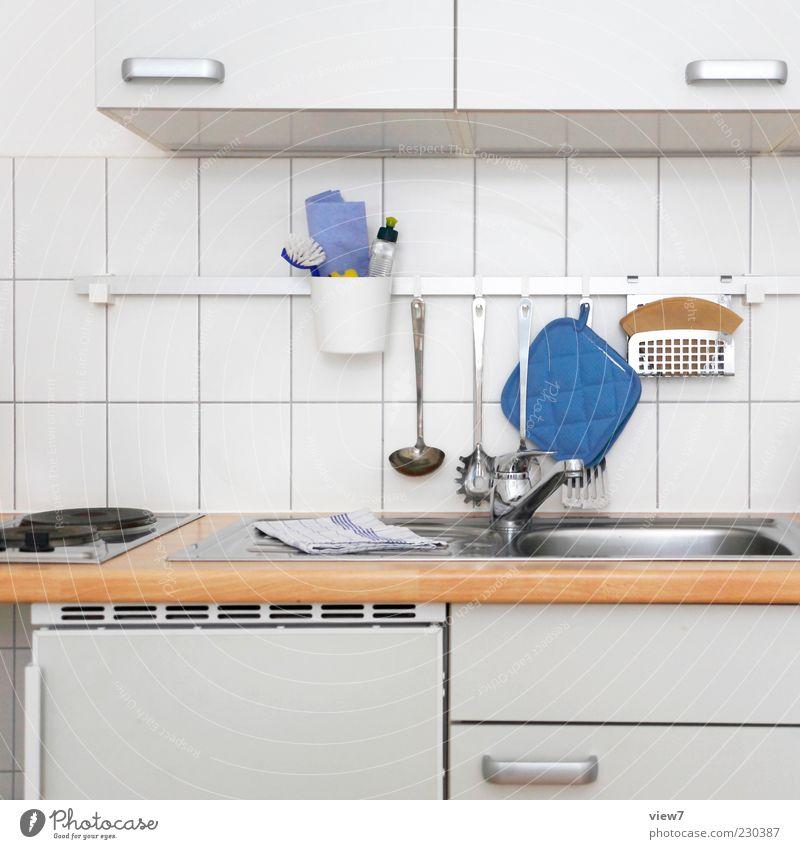 Kommst du zum Essen? weiß schön Holz Linie Wohnung Innenarchitektur Beginn frisch modern authentisch Häusliches Leben Dekoration & Verzierung Küche einfach
