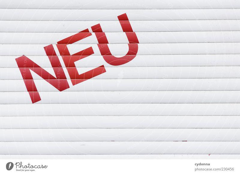 Hüllen ohne Inhalt weiß rot Schilder & Markierungen Design Schriftzeichen neu Zukunft einzigartig Wunsch Vergänglichkeit Neugier geheimnisvoll Kreativität