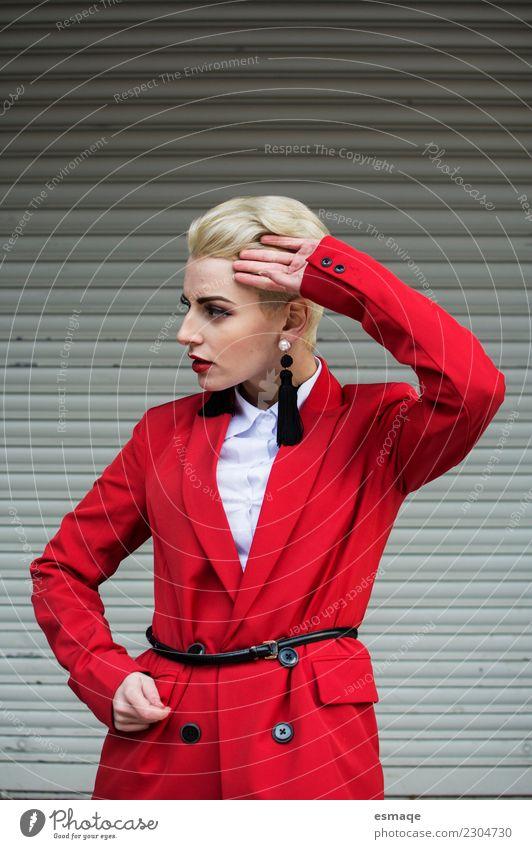 Mensch Jugendliche Junge Frau Farbe Erotik Lifestyle feminin Mode retro elegant blond einzigartig kaufen Bekleidung niedlich Romantik