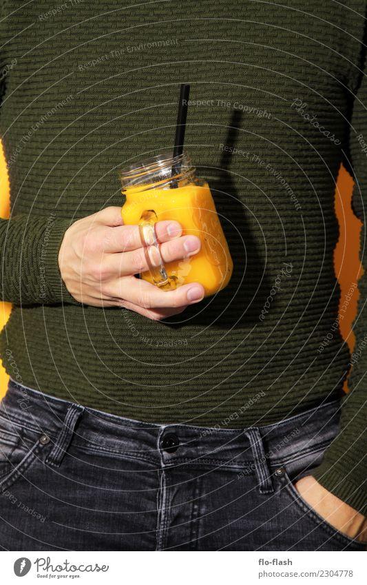 Sonne, Zwiebel, Mango, ... Jugendliche Mann Gesunde Ernährung schön grün Junger Mann Erotik Erwachsene Leben gelb Lifestyle Gesundheit Stil Design Frucht