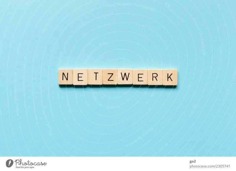 Netzwerk blau sprechen Business Büro Schriftzeichen Kommunizieren Ordnung Erfolg planen Sicherheit Team Beruf Internet Informationstechnologie Partnerschaft