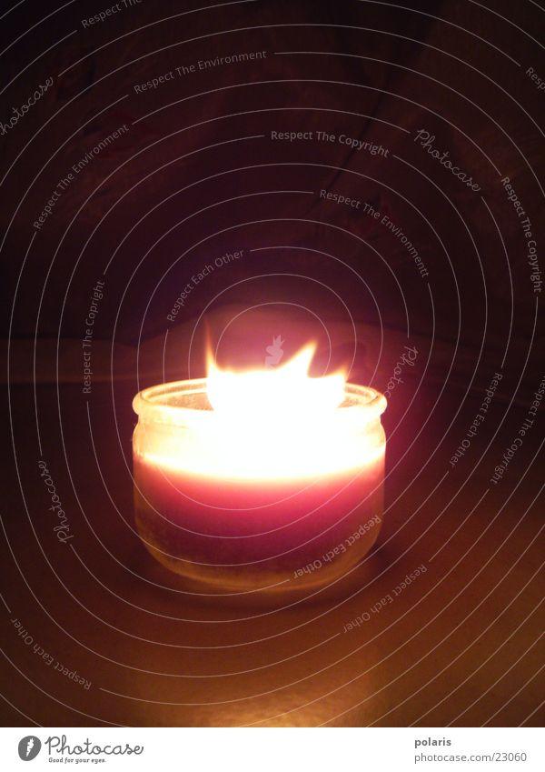 kerze Romantik Kerze Abend dunkel Fototechnik Kontrast leuchten