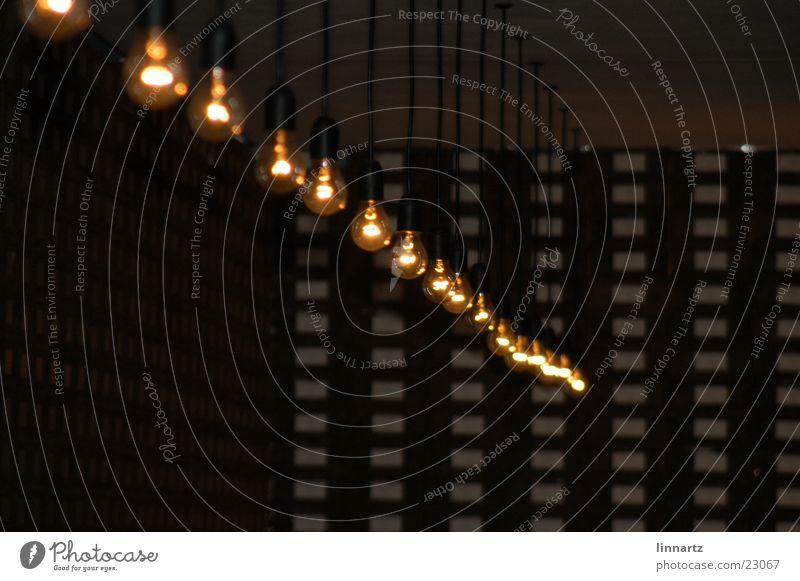 Glühbirnen Lichtinstallation Elektrisches Gerät Technik & Technologie