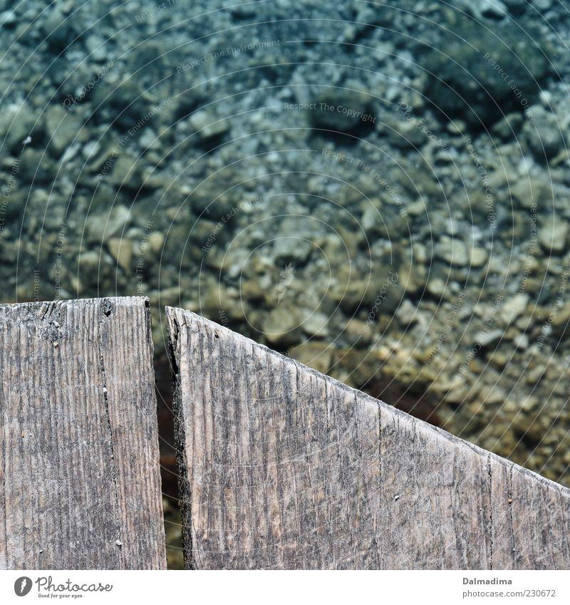 stille Wasser Natur Umwelt Holz Stein See Klima Spitze Holzbrett