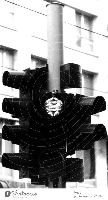 Ampel rot Verkehr stoppen Ampel Halt