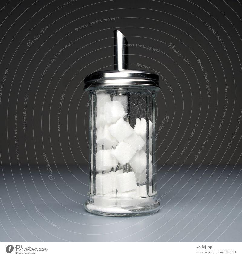 mogelpackung Freude Ernährung Lebensmittel Metall Glas glänzend süß stehen Idee Stillleben Zucker falsch Rätsel Problemlösung Wahrheit
