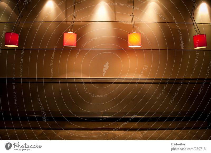 warte mal rot Erholung Lampe Linie braun Beleuchtung elegant Innenarchitektur Energie Design modern ästhetisch Dekoration & Verzierung leuchten Bar entdecken
