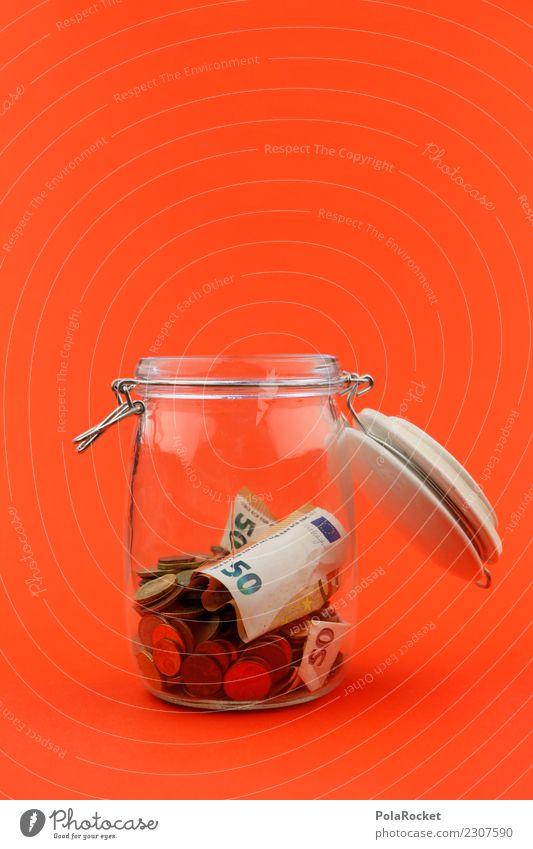 #A# Sparer Kunst Kunstwerk ästhetisch Glas sparen sparsam Spardose Geld Geldscheine Geldgeschenk Geldverkehr ansammeln Konto Zinsen Kapitalwirtschaft
