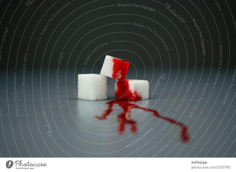 blutzucker Lebensmittel Süßwaren Blut Zucker Blutzucker Würfelzucker Quader süß Krankheit Gesundheitswesen Farbfoto mehrfarbig Innenaufnahme Studioaufnahme