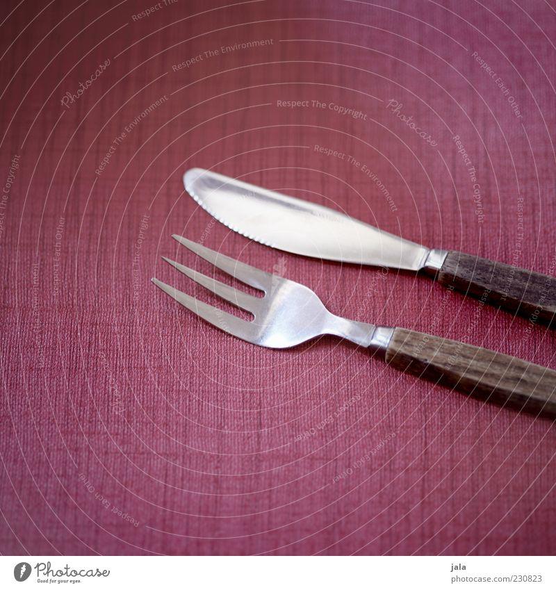 besteck Holz rosa ästhetisch retro Messer Besteck Gabel