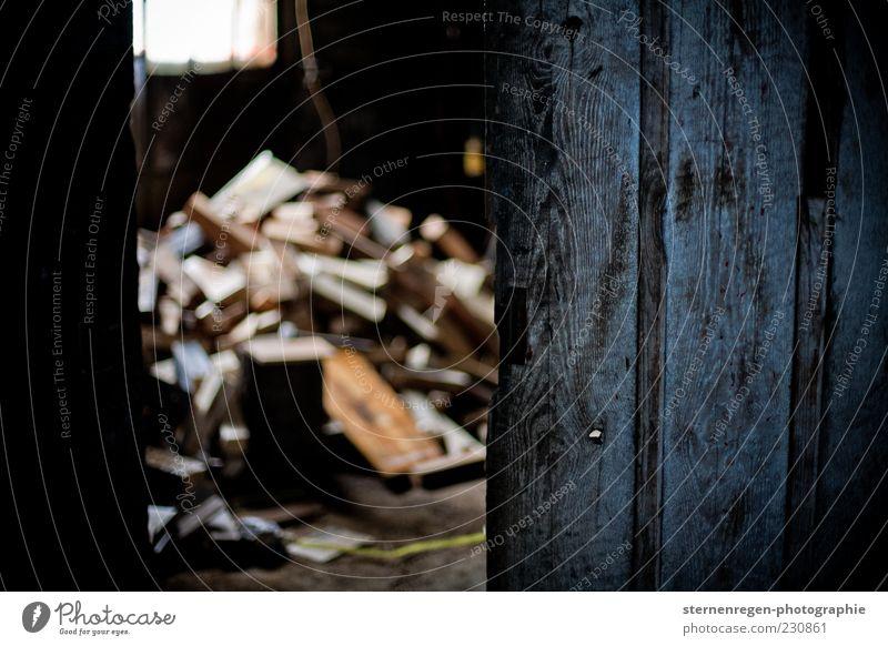 Cellar Door II alt dunkel Holz Gebäude offen Stapel Keller Haufen Brennholz Holztür