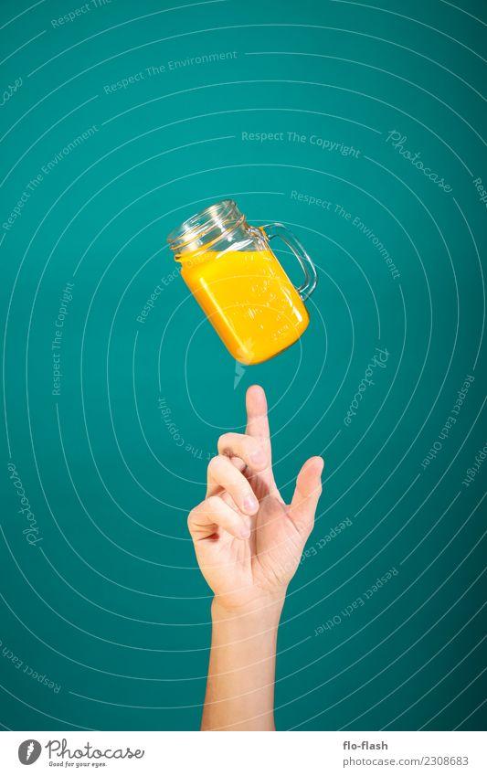 Don't play with ... II Lebensmittel Frucht Orange Ernährung Bioprodukte Vegetarische Ernährung Diät Fasten Getränk Limonade Saft Longdrink Cocktail Glas