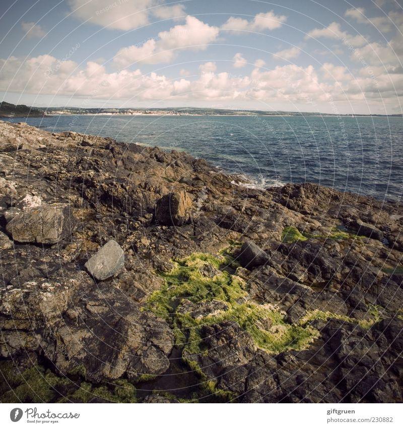 500* noch mehr meer Himmel Natur Wasser Pflanze Meer Sommer Strand Wolken Ferne Umwelt Landschaft Stein Küste Wetter Wellen Horizont