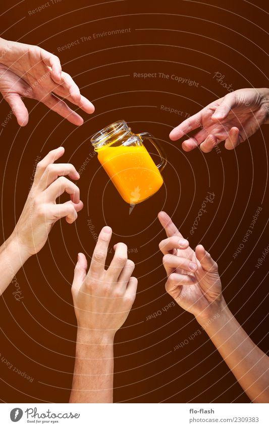 VERLOCKUNG Lebensmittel Frucht Orange Süßwaren Getränk Erfrischungsgetränk Limonade Saft Longdrink Cocktail Glas Lifestyle Stil Design schön Gesundheit Wellness