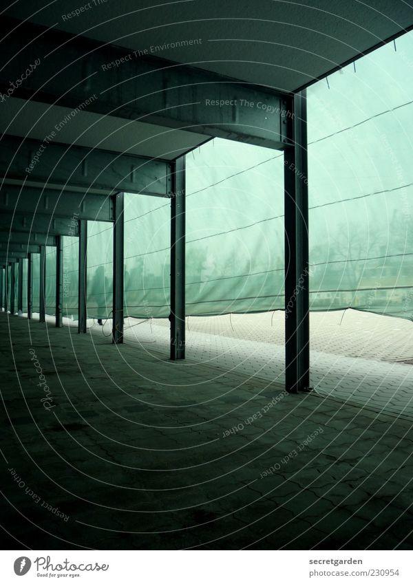 regenerative energie. grün schwarz dunkel Architektur Fassade Netz Schutz Stahl Säule Wiederholung Abdeckung Industrieanlage Strebe Sichtschutz Stahlträger