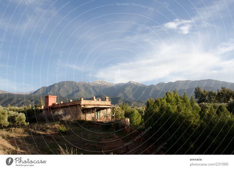 Nachmieter verzweifelt gesucht Natur Landschaft Schönes Wetter Berge u. Gebirge Traumhaus außergewöhnlich einzigartig Ferien & Urlaub & Reisen Marokko Afrika