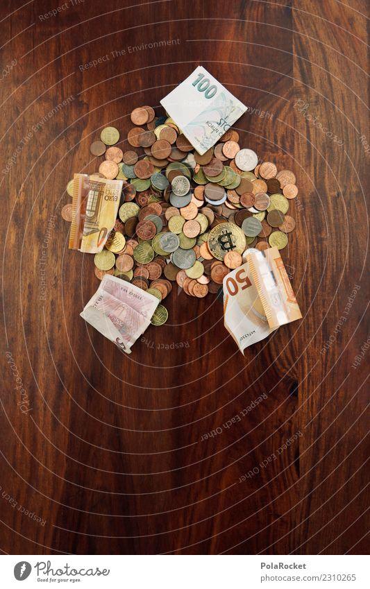 #A# Haufen Cash Kunst Kunstwerk ästhetisch Geld Geldmünzen Geldscheine Geldkapital Geldverkehr cash Bargeld sparen Erspartes Euro Farbfoto Gedeckte Farben