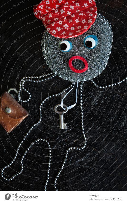 Emotionen...coole Gesichter: Schlüsselkind Kind Mensch rot Auge feminin braun maskulin Kleinkind silber androgyn
