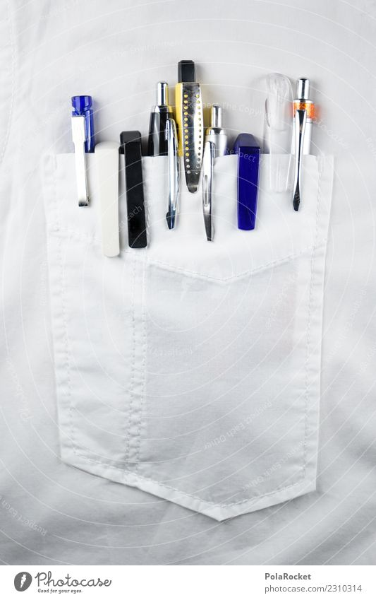 #S# Messe ? Beruf Jagd Kugelschreiber viele übertrieben lustig Vielfältig weiß Hemd Sammlung Spießer egoistisch Kreativität Idee konzept Teamwork Schreibstift