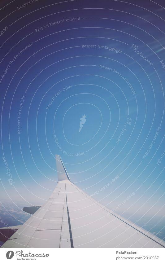 #A# Flying High Freizeit & Hobby ästhetisch Ferien & Urlaub & Reisen Reisefotografie reisend Urlaubsfoto Urlaubsstimmung Urlaubsverkehr Flugzeug fliegen