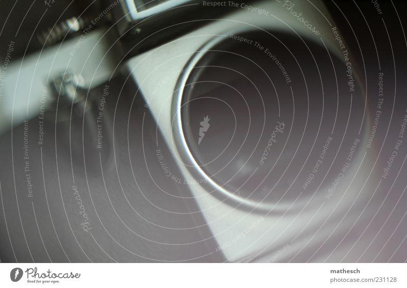 body Metall alt schwarz silber Fotokamera analog Fotografie Filmmaterial Gedeckte Farben Detailaufnahme Experiment Menschenleer Tag Schwache Tiefenschärfe