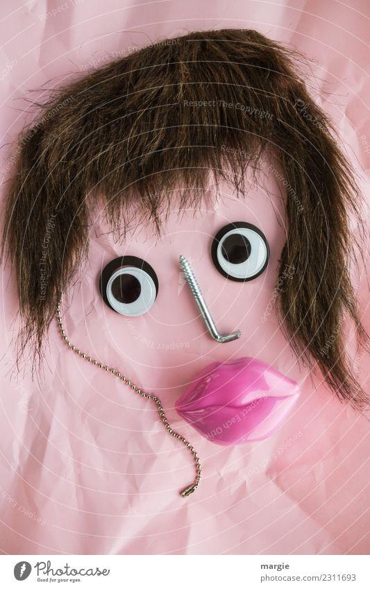 Emotionen...coole Gesichter: Schmollmund Frau Mensch Jugendliche Junge Frau Auge Erwachsene feminin braun rosa Mund Lippen