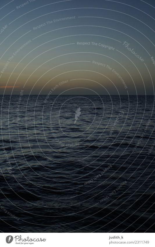 Dämmerung in der Karibik Ferien & Urlaub & Reisen Tourismus Abenteuer Ferne Freiheit Kreuzfahrt Strand Meer Wellen Segeln Umwelt Natur Urelemente Wasser Himmel