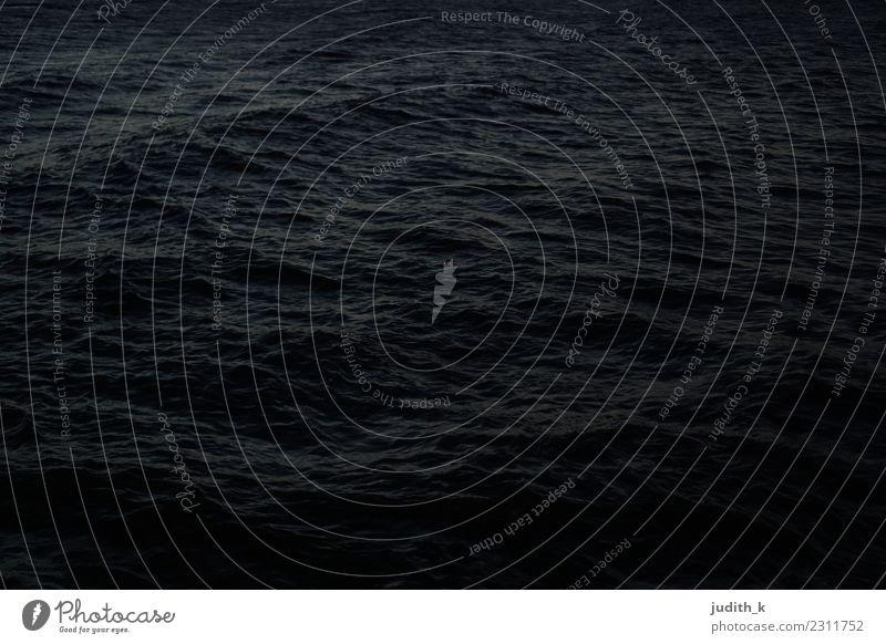 Schwarzes Meer ruhig Schwimmen & Baden Ferne Strand Wellen Umwelt Urelemente Wasser Sturm Bucht Karibisches Meer See Riohacha Kolumbien Südamerika Schifffahrt