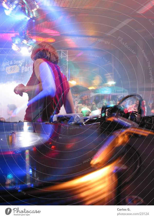 danci'n Girl 2 Party Langzeitbelichtung Techno Disco Nachtleben Tanzen Electro