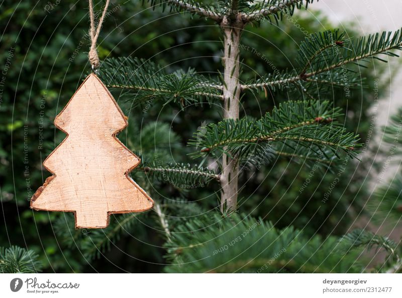 Weihnachts-Tannenform Design Winter Dekoration & Verzierung Feste & Feiern Weihnachten & Advent Natur Baum Papier Holz neu grün weiß Hintergrund hakenförmig Ast