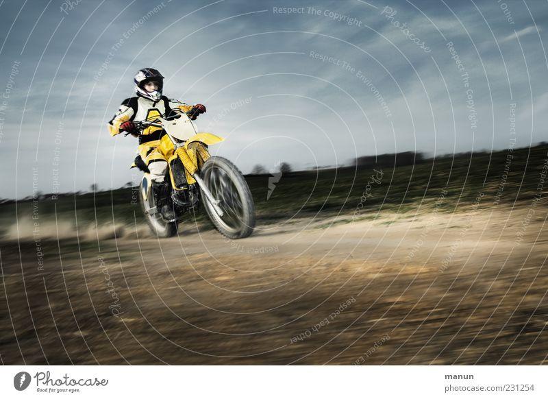 MX Freizeit & Hobby Sport Motorsport Motorrad Motorradfahrer Motorradsportler Motorradfahren Motocrossmotorrad Motocross-Fahrer Rennbahn Mensch Kindheit Leben