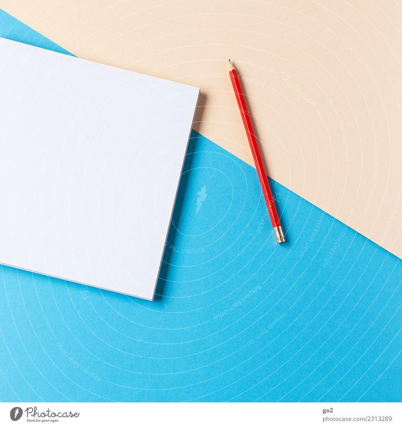 Stift und Papier sprechen Schule Arbeit & Erwerbstätigkeit Design Freizeit & Hobby Büro ästhetisch Ordnung Kreativität Idee Studium schreiben Bildung
