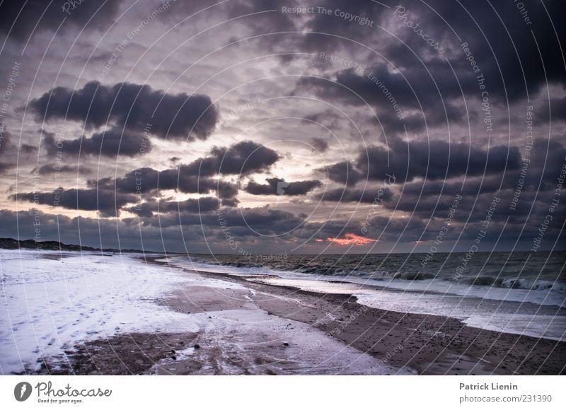 show me the coast Umwelt Natur Landschaft Urelemente Luft Wasser Himmel Wolken Gewitterwolken Winter Klima Klimawandel Wetter schlechtes Wetter Unwetter Wind