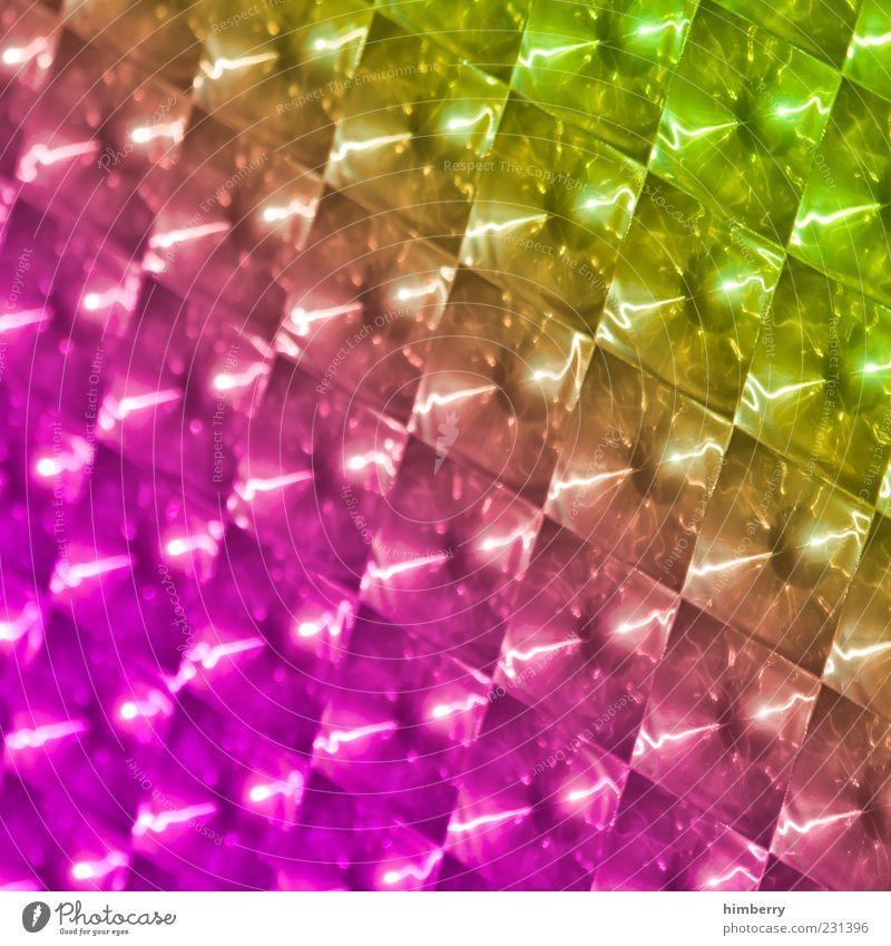 liquid force grün gelb rosa glänzend Design außergewöhnlich Coolness einzigartig Kitsch Kunststoff trendy positiv Reflexion & Spiegelung regenbogenfarben