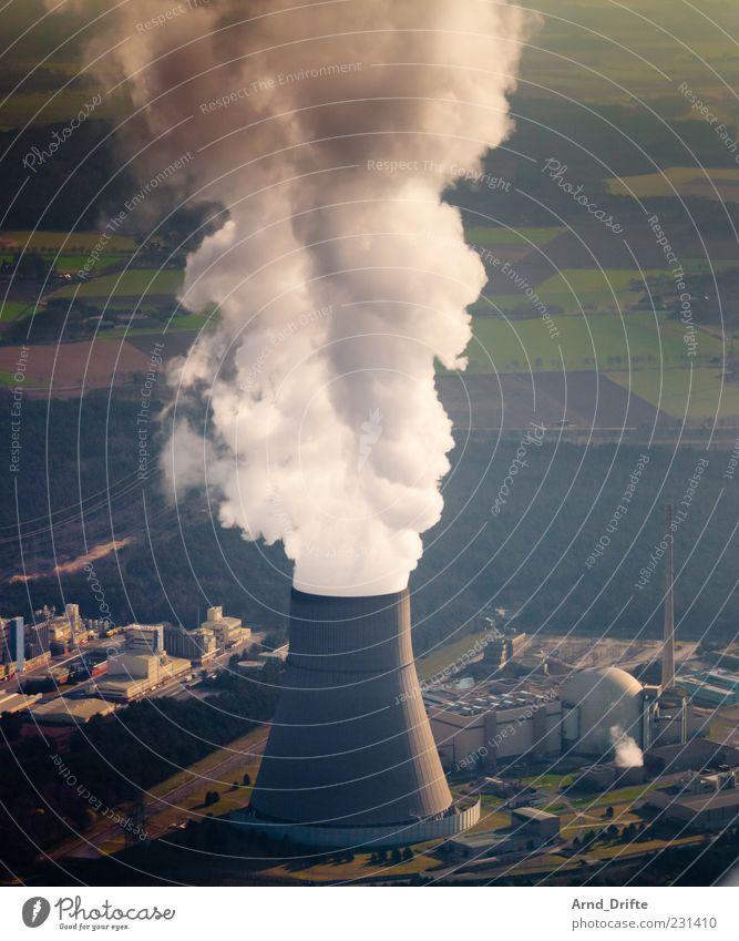 AKW Emsland Natur Umwelt Landschaft Architektur Gebäude Feld Angst Energie modern Energiewirtschaft Klima gefährlich Zukunft bedrohlich Technik & Technologie gruselig