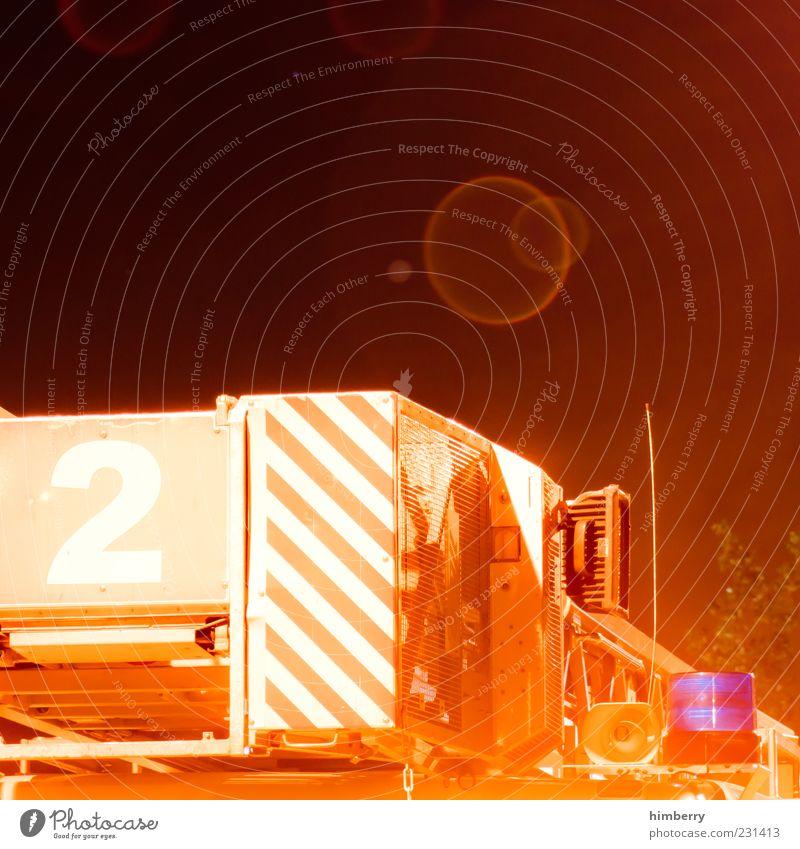 second life Verkehrsmittel Fahrzeug Feuerwehrauto Einsatz Warnleuchte 2 Alarm Typographie Notfall Unfall Farbfoto mehrfarbig Außenaufnahme Textfreiraum oben