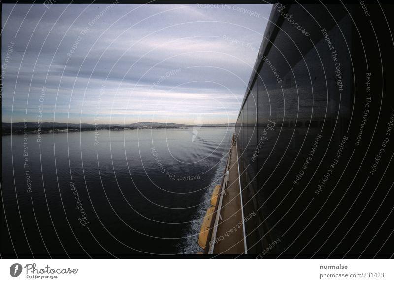 nordischer Konzentrationspunkt Natur Ferien & Urlaub & Reisen Landschaft Bewegung Küste Ausflug Tourismus fahren Ostsee Schifffahrt Fähre Kreuzfahrt