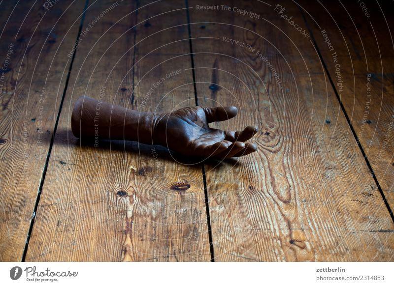 Hand Holz Textfreiraum - ein lizenzfreies Stock Foto von Photocase