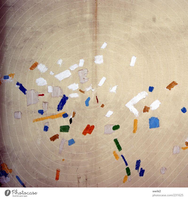 Modern Art schön Freude Farbe Wand Freiheit Mauer Kunst Fassade Design ästhetisch Fröhlichkeit Punkt Gemälde Leidenschaft Lebensfreude chaotisch