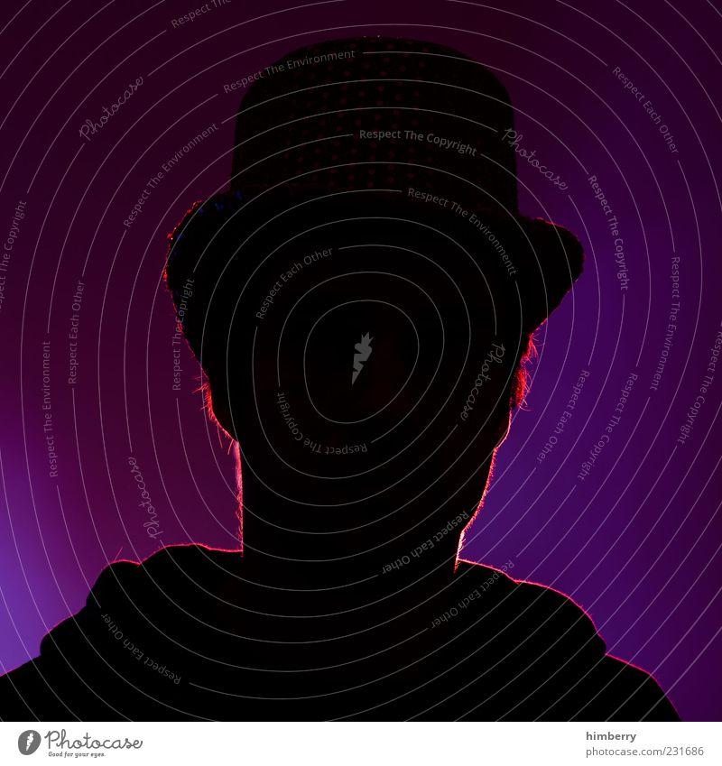 avatar Mensch maskulin Kopf 1 Gefühle Stimmung Vertrauen Wahrheit anonym Exklusivität Charakter Typ Zylinder Hut Farbfoto mehrfarbig Studioaufnahme