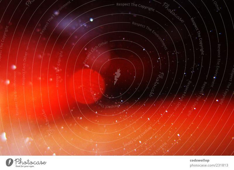 im staub der sterne Wissenschaften rot schwarz Weltall entdecken Raumfahrt Partikel Farbfoto Detailaufnahme Makroaufnahme Experiment abstrakt Muster