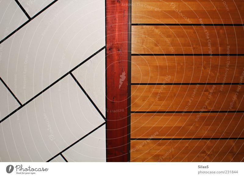 Decke weiß schwarz Architektur Holz braun Verschiedenheit Fuge Holzwand Balken rotbraun Wandtäfelung